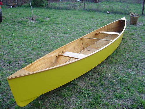 Image gallery plywood canoe for Plans for canoe