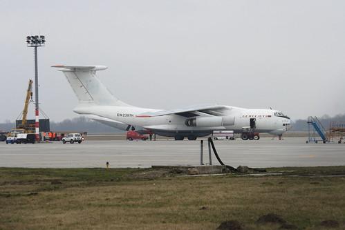 Aircraft (IL76) silhouette