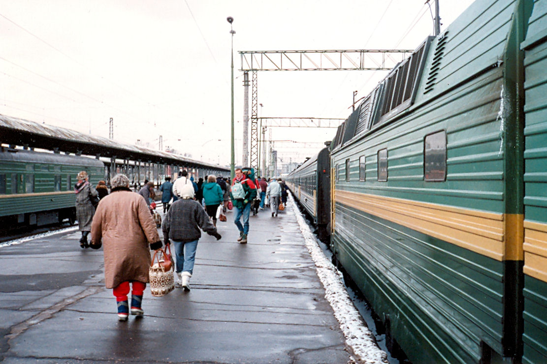 Yaroslavl Station in Moscow