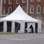University of the Arts London - Circus tent - Chelsea Parade Ground