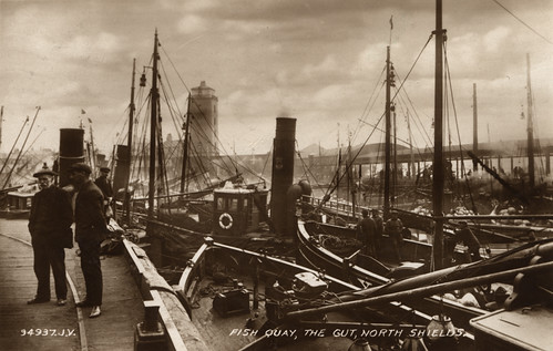 Fish Quay North Shields C. 1940