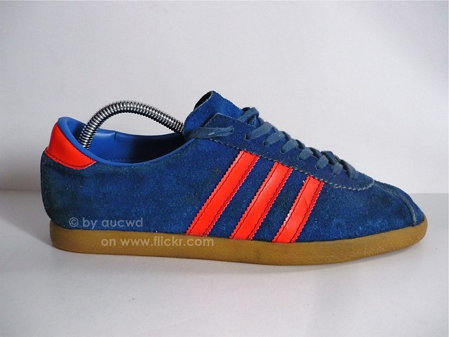 70`S 80`S VINTAGE ADIDAS DUBLIN SHOES | pair of the city