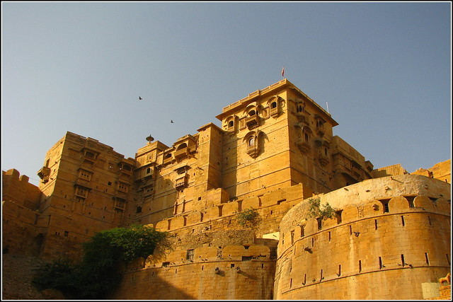Jaisalmer Fort by CC user manojvasanth on Flickr