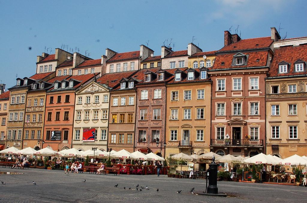 Old Town Market Square (Rynek Starego Miasta), Warsaw
