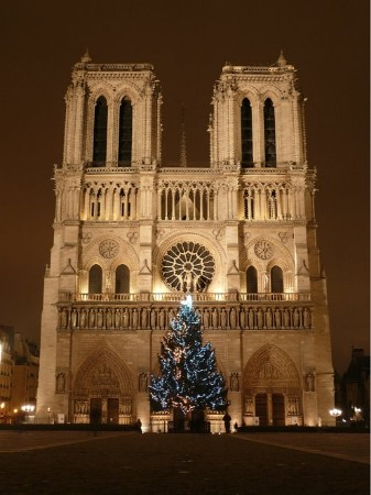 Christmas in Paris - Notre Dame à Noël