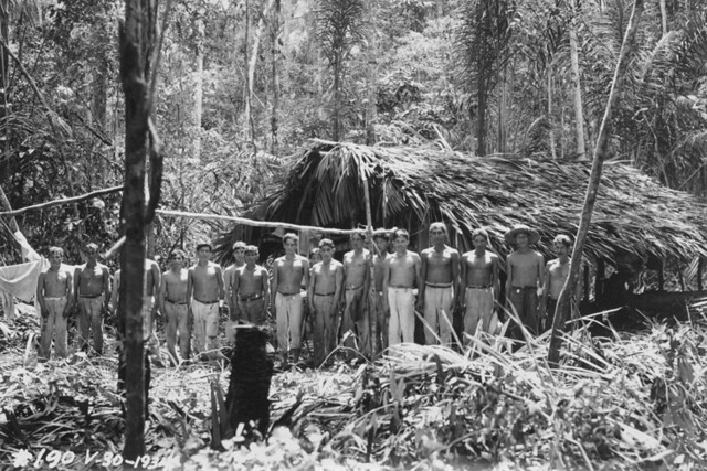 Workers clearing the jungle at Fordlandia, June 18, 1934.