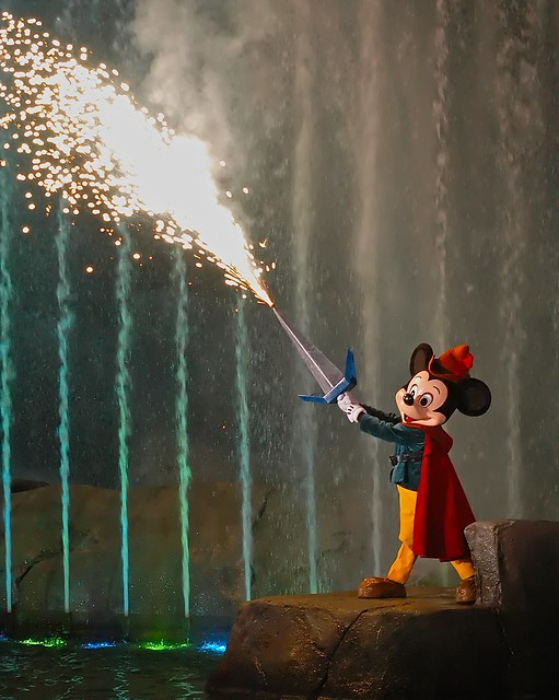 Mickey's Fire Sword