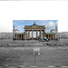 Berlin Wall and Brandenburg Gate - Looking Into the Past