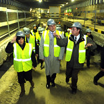 Visit of the Justus Lipsius rail tunnel