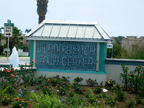 Vilano Beach sign