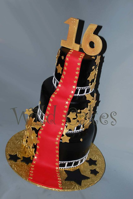 Red Carpet Cake Images : Red Carpet Sweet 16 cake Explore Wild Cakes  photos on ...