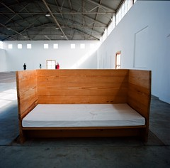 Bed, Arena, Donald Judd