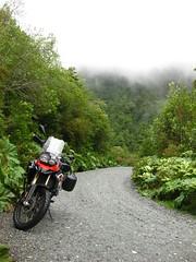 Twisty Mountain Gravel Road