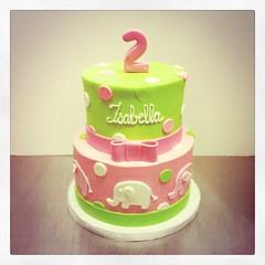 Elephant Birthday #cake