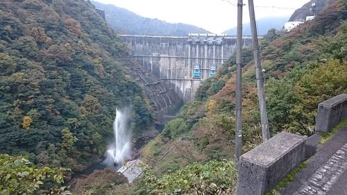 ダム×峡谷→絶景