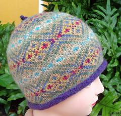 GEMS Hat Shetland wool