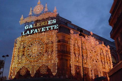 No l gourmand aux galeries lafayette le journal des vitrines - Vitrine noel galerie lafayette ...