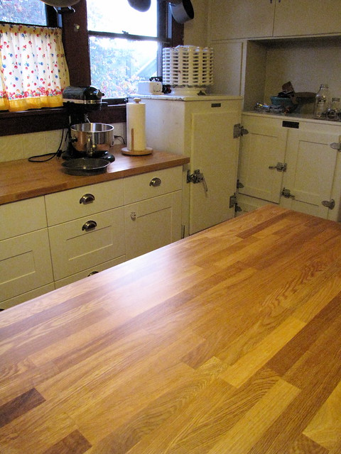 Shine Kitchen Wood Worktop