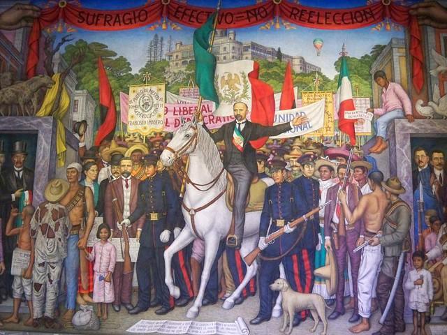 Mural Revoluci N A Cien A Os De La Independencia De