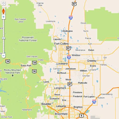 Northern Colorado Map  Flickr  Photo Sharing