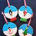 Snow Globe Sugar Cookie Ornaments