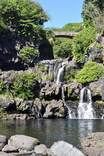 Seven Sacred Pools - Falls