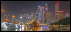 Singapore' Skyline @ Night
