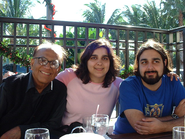 Alann, Cris, and Mr. Shaikh