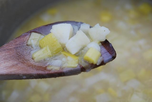 Leek, Potato and Stilton-Cheese Soup | Flickr - Photo Sharing!
