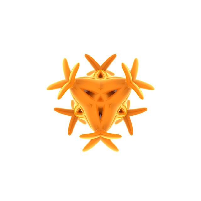 Color and Form: Orange