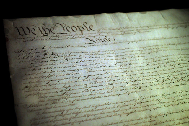 Constitution in the National Archives from Flickr via Wylio