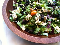 spinach salad(0.0), produce(0.0), salad(1.0), vegetable(1.0), vegetarian food(1.0), leaf vegetable(1.0), food(1.0), dish(1.0), cuisine(1.0), feta(1.0),