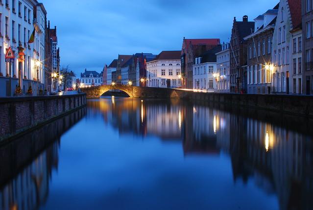 Brujas nocturna / Bruges by night