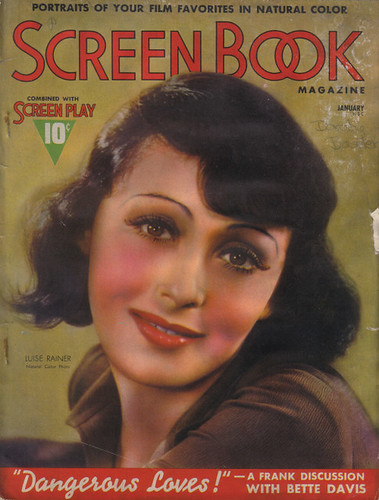 January 1938, Luise Rainer