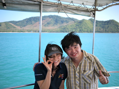 With Tomo, my diving instructor