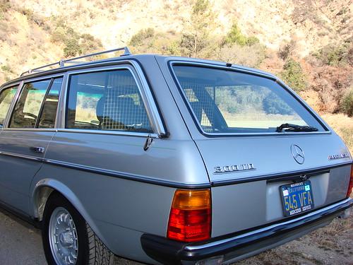 1983 mercedes benz 300td touring diesel turbo european for 1983 mercedes benz 300td