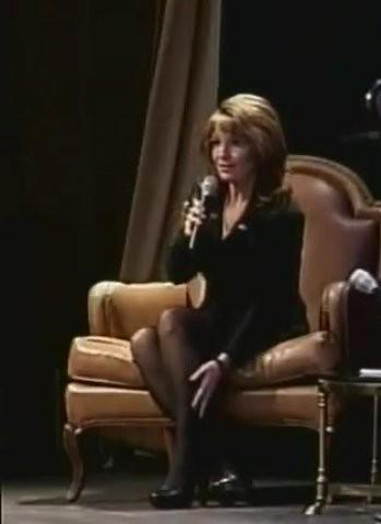 Sarah Palin Pantyhose Legs