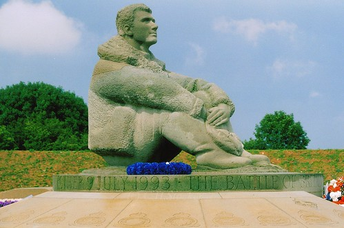 Battle of Britain RAF memorial, Kent, England by Stocker Images