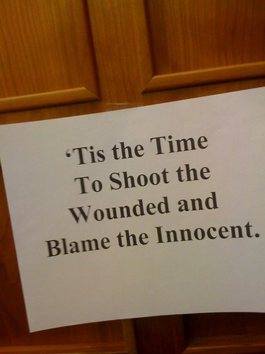 SHOOT THE WOUNDED