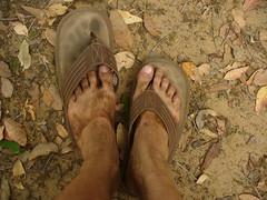 Dirt feet
