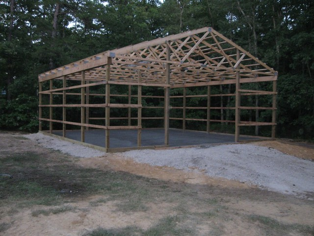 32x40x16 diy pole barn flickr photo sharing