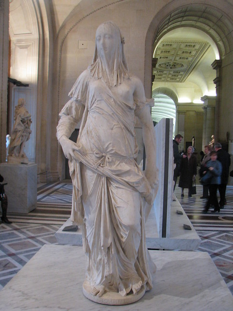 Veiled Woman In The Louvre Flickr Photo Sharing