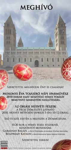 Mosonyi Éva tojásfestés