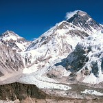 Kala Pattar at 5,545m. Everest is so huge.