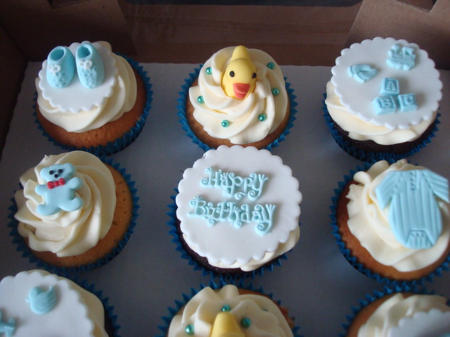 Cupcake Design For Baby Boy : cupcakes by design - a gallery on Flickr