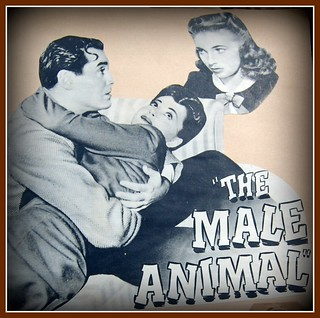 The Male Animal, 1942: Fonda, deHaviland, Joan Leslie