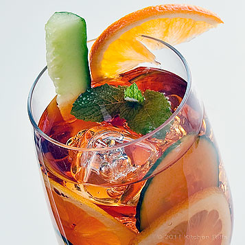 Kitchen riffs pimm s cup the perfect summer cocktail for What to mix with pimms