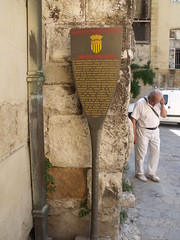Photo of Cathédrale Saint-Sauveur, Aix-en-Provence and Jean Guiramand grey plaque
