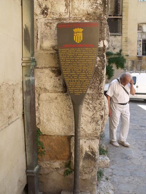 Photo of Cathédrale Saint-Sauveur, Aix-en-Provence and Jean Guiramand grey plaque