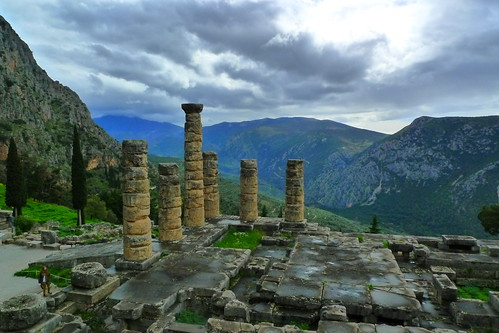 Temple of Apollo - Ancient Delphi, Greece